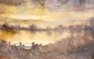 Artists in Residence - Anne Hazelwood - Along The Clarence
