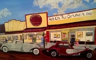 Art on the Corner by Marjorie Leggett
