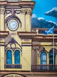 Town Hall detail by Stephen Wright